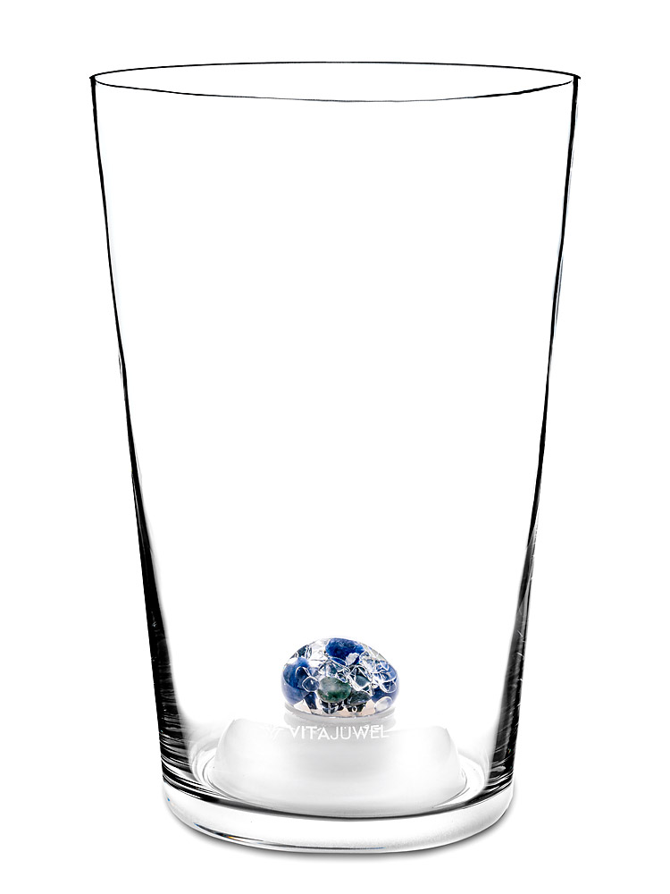 Stiklo vaza gėlėms